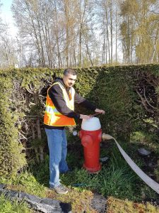 Fire Hydrant Flow Test Vancouver BC Canada